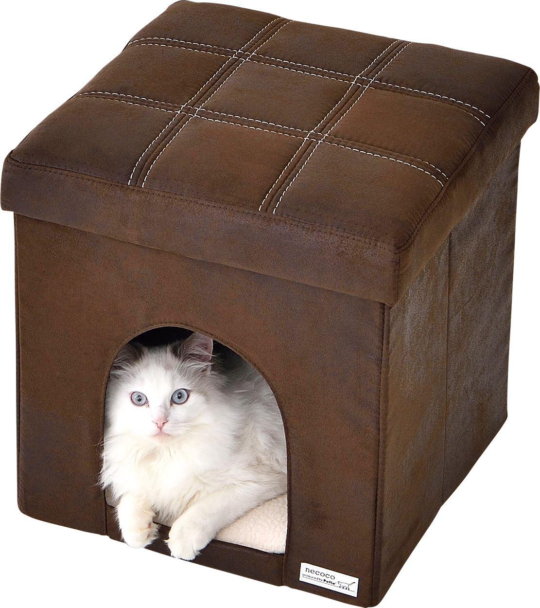 愛猫のハウスにも、人のスツールにも