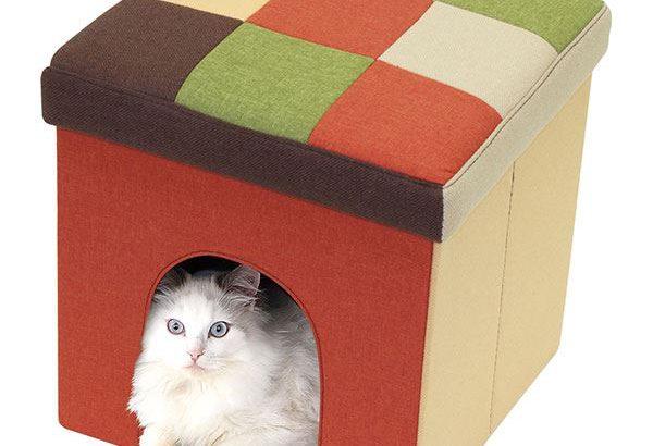 隠れ家、寝床としてくつろぎスペースを